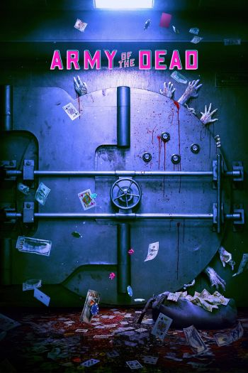 Army of the Dead dvd release poster