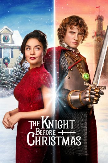 The Knight Before Christmas dvd release poster