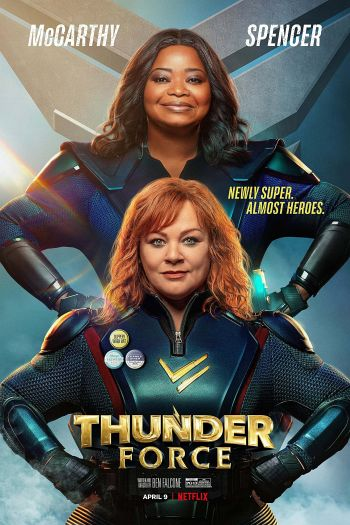 Thunder Force dvd release poster