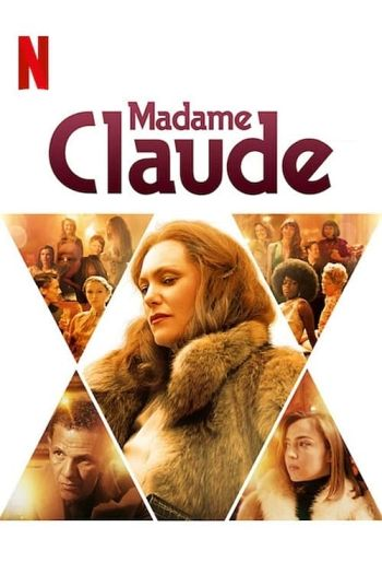 Madame Claude dvd release poster