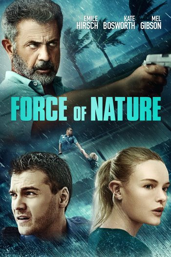 Force of Nature dvd release poster