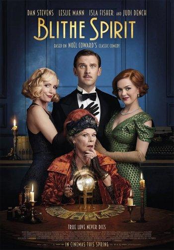 Blithe Spirit dvd release poster