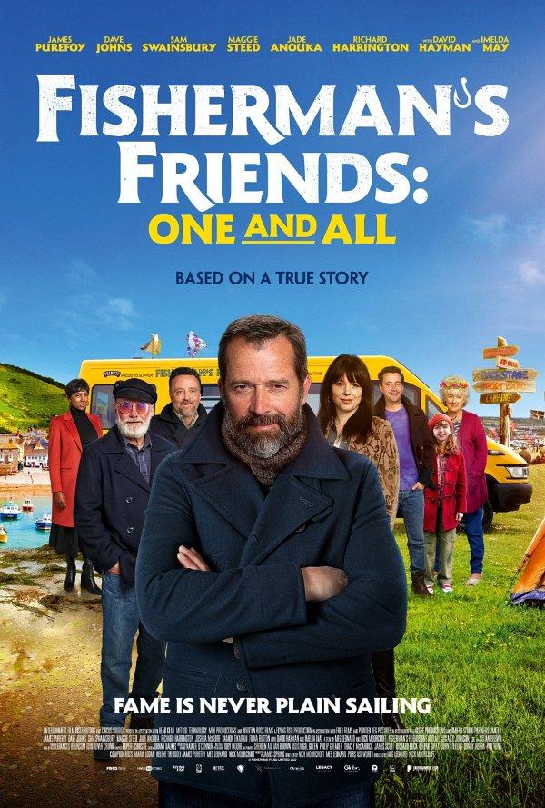 Fisherman's Friends 2 dvd release poster
