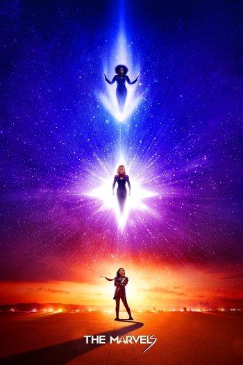 Captain Marvel II dvd release poster