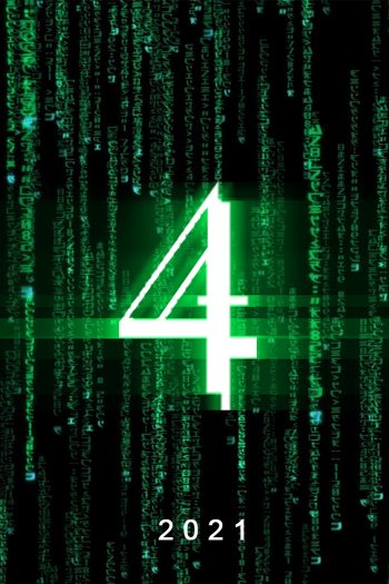 The Matrix 4 dvd release poster