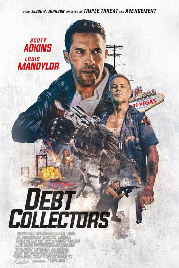 Debt Collectors dvd release poster