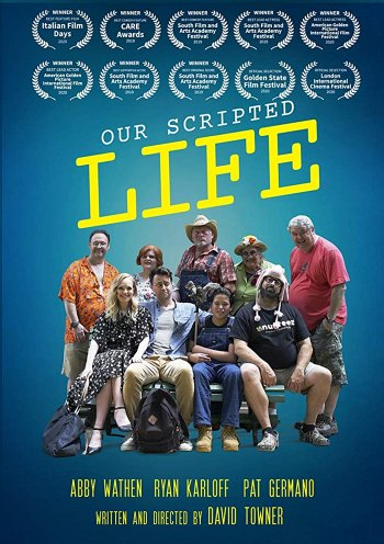 Our Scripted Life dvd release poster
