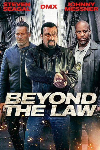 Beyond the Law dvd release poster