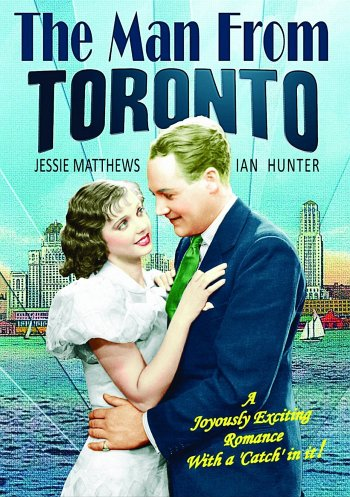 The Man from Toronto dvd release poster