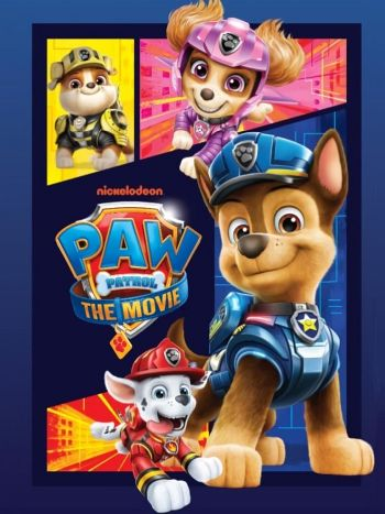 Paw Patrol: The Movie dvd release poster