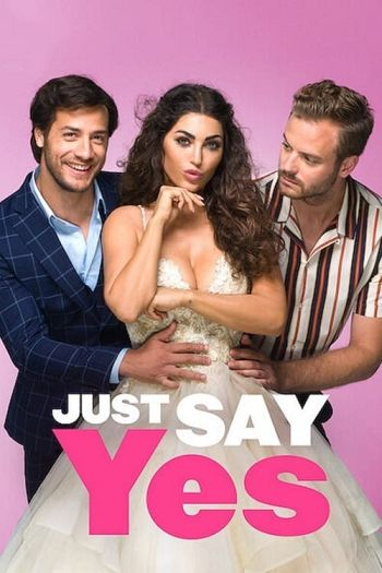 Just Say Yes dvd release poster