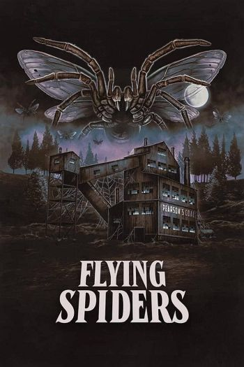 Flying Spiders dvd release poster
