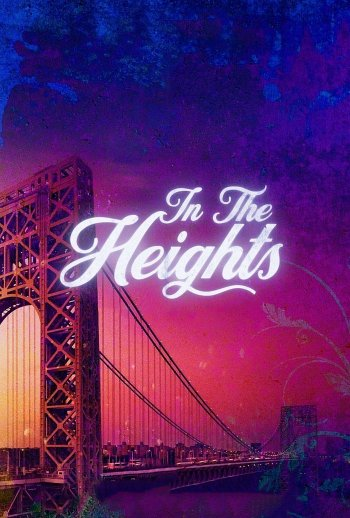 In the Heights dvd release poster