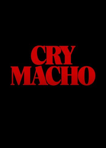 Cry Macho dvd release poster