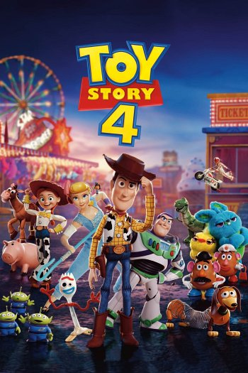Toy Story 4 dvd release poster