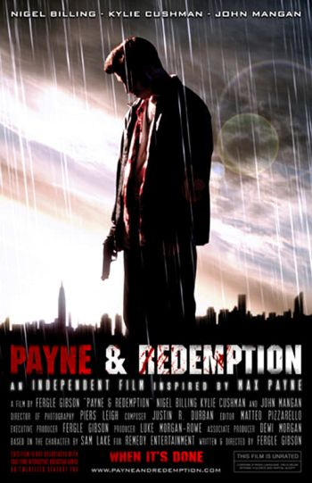 Payne & Redemption dvd release poster