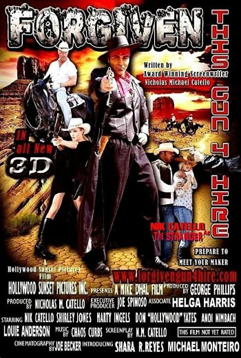 Forgiven This Gun4hire dvd release poster