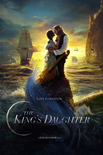 The King's Daughter dvd release poster