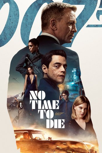 No Time to Die dvd release poster