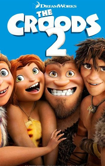 The Croods 2 dvd release poster