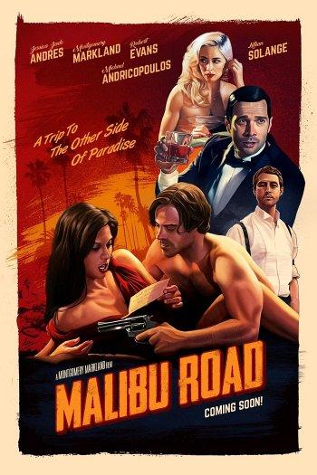 Malibu Road dvd release poster
