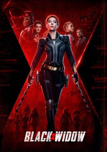 Black Widow dvd release poster