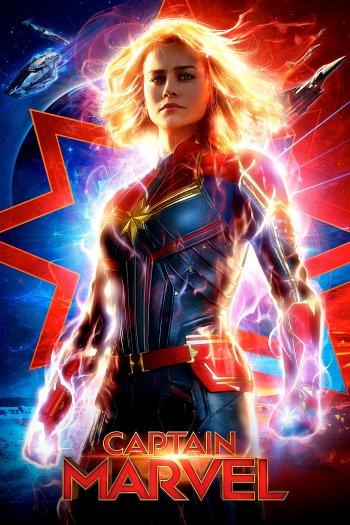 Captain Marvel dvd release poster