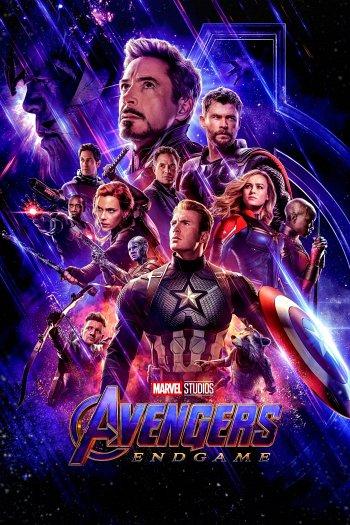 Avengers: Endgame dvd release poster