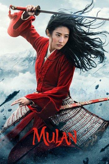 Mulan dvd release poster