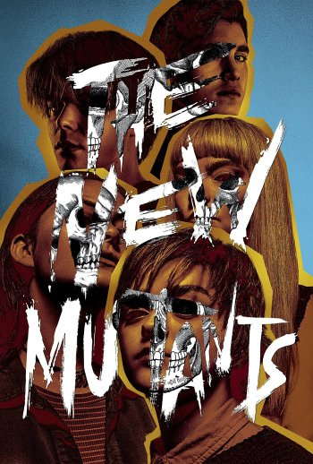 The New Mutants dvd release poster