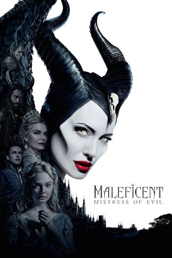 Maleficent: Mistress of Evil dvd release poster