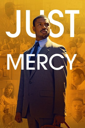 Just Mercy dvd release poster