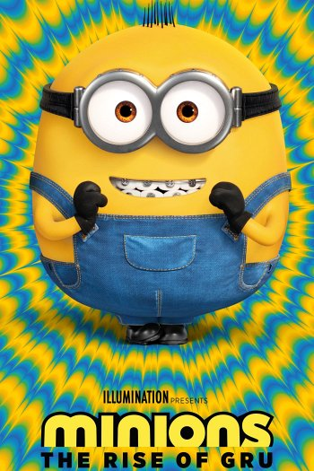 Minions: The Rise of Gru dvd release poster
