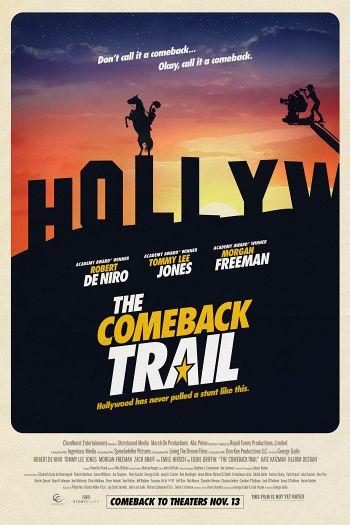 The Comeback Trail dvd release poster