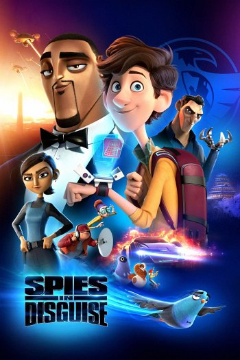 Spies in Disguise dvd release poster