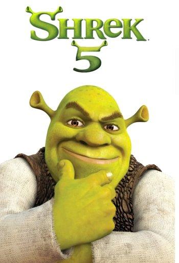 Shrek 5 dvd release poster