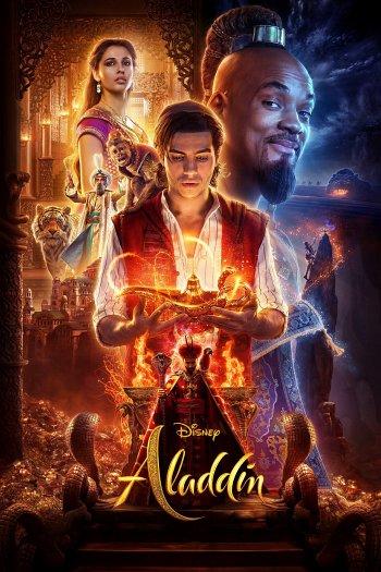 Aladdin dvd release poster