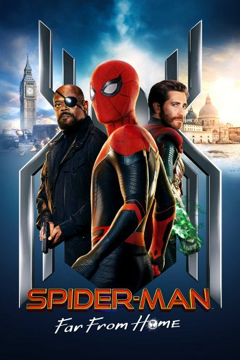 Spider-Man: Far from Home dvd release poster