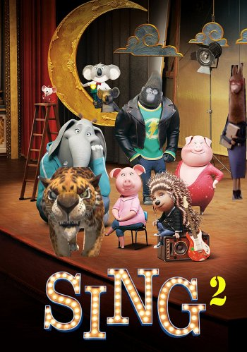Sing 2 dvd release poster