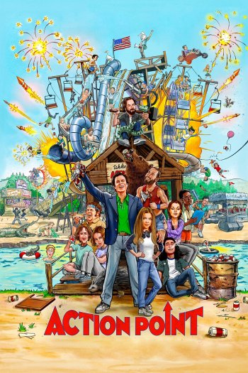 Action Point dvd release poster