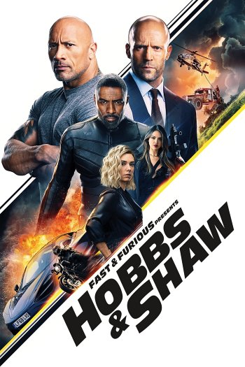 Fast & Furious Presents: Hobbs & Shaw dvd release poster