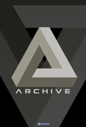 Archive dvd release poster