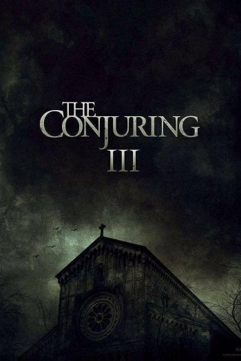 The Conjuring: The Devil Made Me Do It dvd release poster