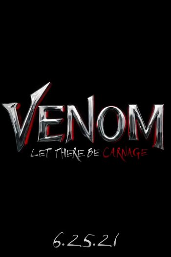 Venom: Let There Be Carnage dvd release poster