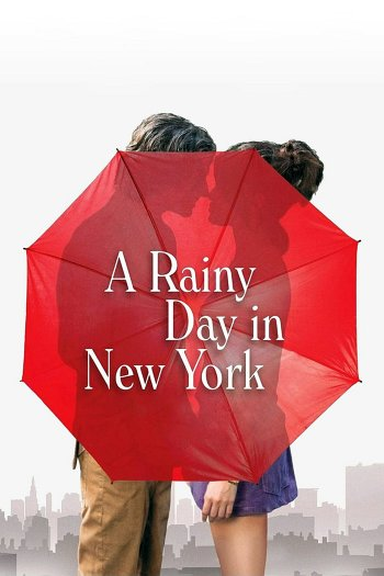 A Rainy Day in New York dvd release poster