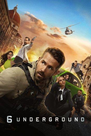 6 Underground dvd release poster