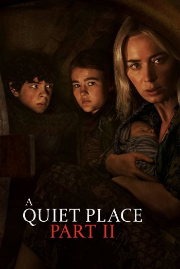 A Quiet Place Part II dvd release poster