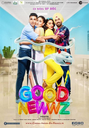 Good Newwz dvd release poster