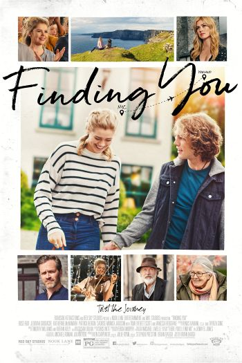 Finding You dvd release poster