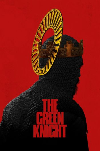 The Green Knight dvd release poster